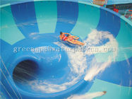 Durable Giant Aqua Park Equipments Aqua Park / Water Park Fiberglass Water Slide